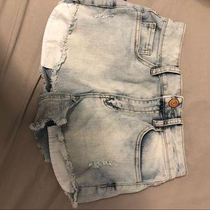 NWOT Acid Wash Shorts